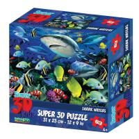 "3D Puzzle-63 ""Акульи воды"""